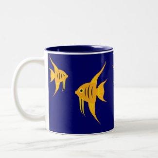 AngelFish_Blue Lagoon mug