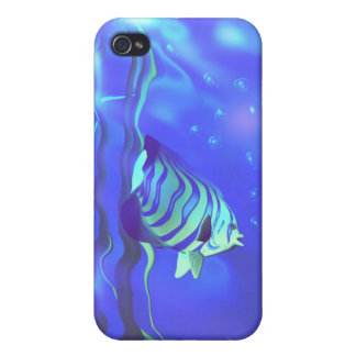 Angelfish Blues Cover For iPhone 4
