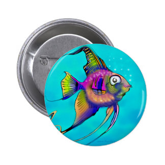 Angelfish Pins