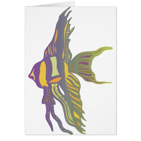 Angelfish Card