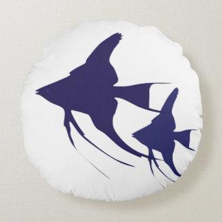 Angelfish Cojín Redondo