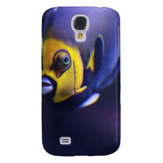 angelfish con gafas funda para galaxy s4