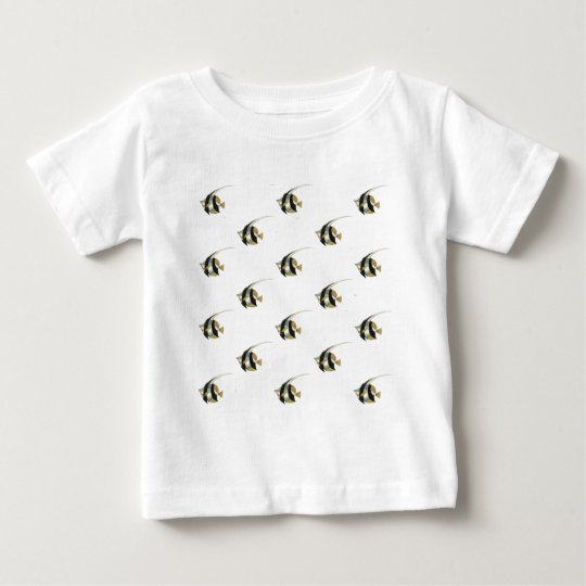 Angelfish cutouts.jpg baby T-Shirt