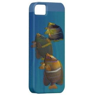 Angelfish de la natación iPhone 5 fundas