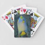 Angelfish de la reina baraja de cartas