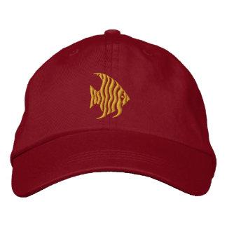 Angelfish Embroidered Baseball Caps