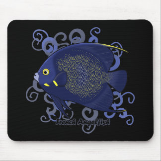 Angelfish francés mouse pads