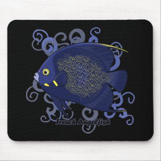 Angelfish francés tapete de ratones