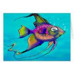 Angelfish Greeting Cards