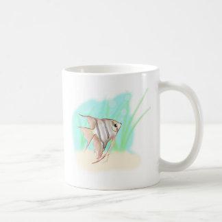 angelfish-hyperdoug.jpg classic white coffee mug
