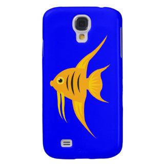 AngelFish in the deep blue sea Samsung Galaxy S4 Case