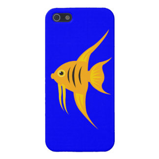 AngelFish in the deep blue sea Cover For iPhone SE/5/5s