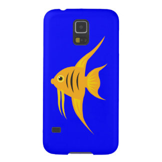 AngelFish in the deep blue sea Galaxy S5 Case