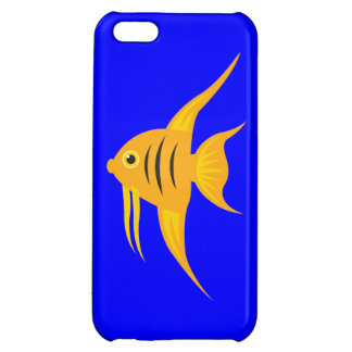 AngelFish in the deep blue sea iPhone 5C Case