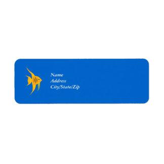 AngelFish Return Address Label