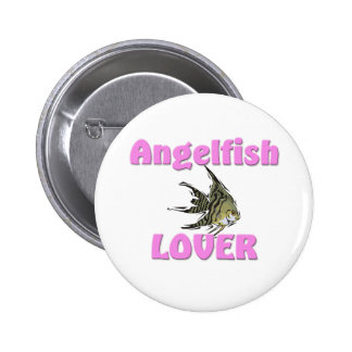 Angelfish Lover Pinback Buttons