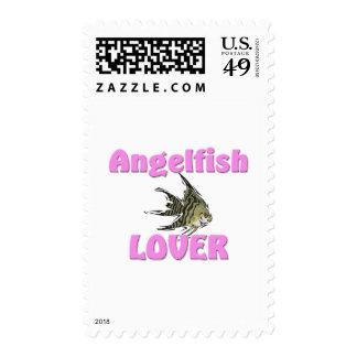 Angelfish Lover Stamp