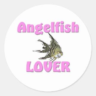 Angelfish Lover Stickers