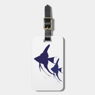 Angelfish Luggage Tag