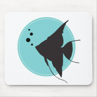 Angelfish Mouse Pad