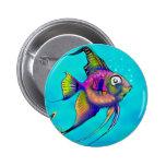 Angelfish Pin Redondo 5 Cm