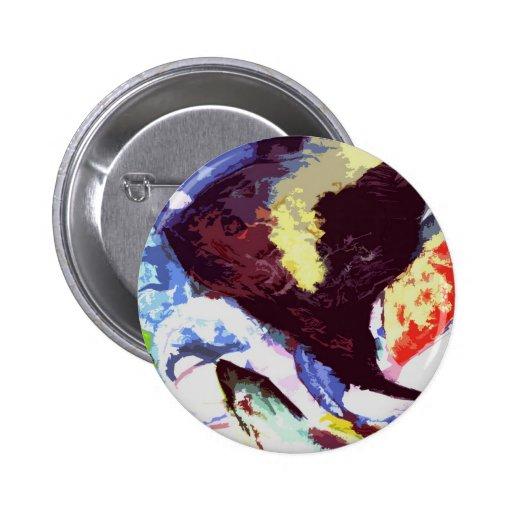 angelfish pinback button