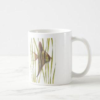 Angelfish Pterophyllum scalare double image Mug