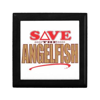 Angelfish Save Jewelry Box