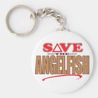 Angelfish Save Keychain