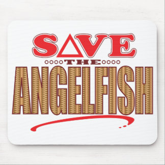 Angelfish Save Mouse Pad