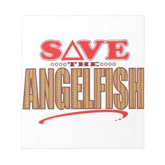 Angelfish Save Note Pad