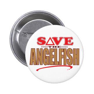 Angelfish Save Pinback Button