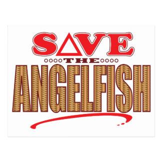 Angelfish Save Postcard