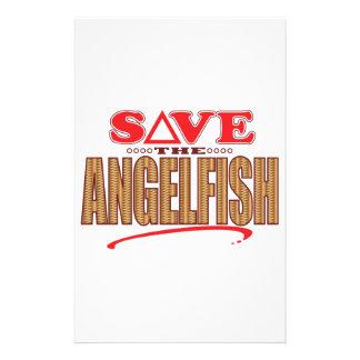 Angelfish Save Stationery