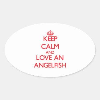 Angelfish Stickers