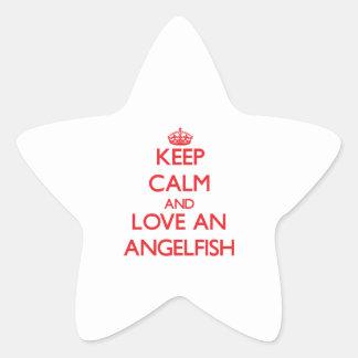 Angelfish Star Stickers
