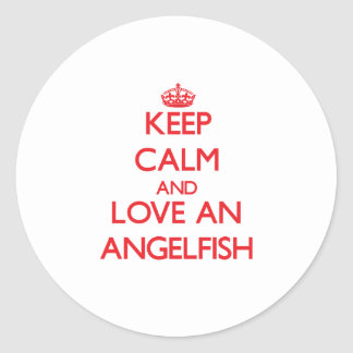 Angelfish Sticker