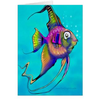 Angelfish Tarjeta De Felicitación