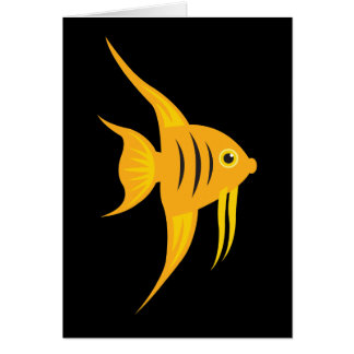 AngelFish_Thanks for being such an angel Greeting Card