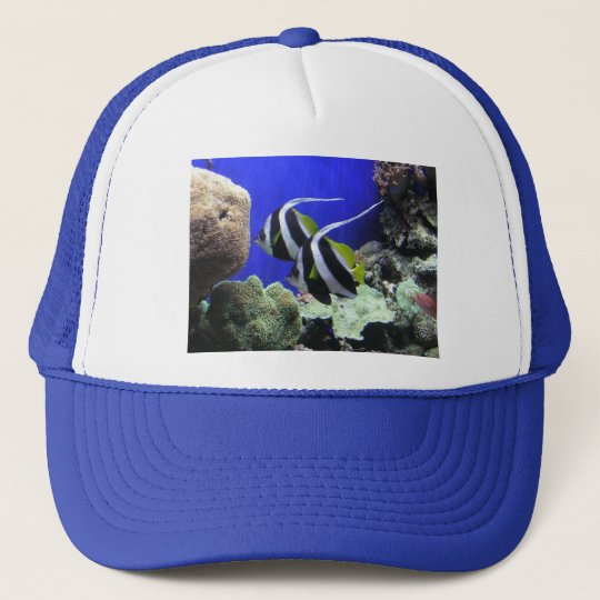 Angelfish Trucker Hat
