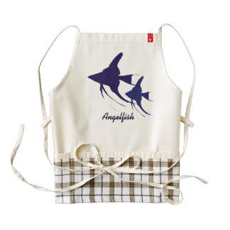 Angelfish Zazzle HEART Apron