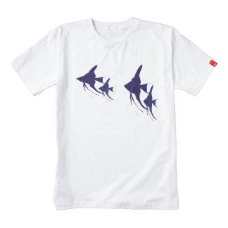 Angelfish Zazzle HEART T-Shirt
