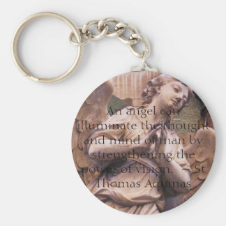 Angelic Angel Quotes -  Angel Quotation Key Chain