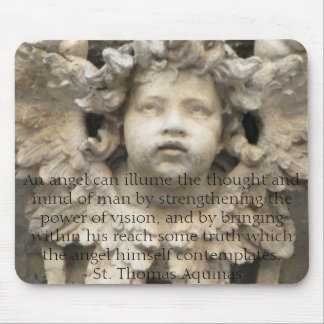 Angelic Angel Quotes -  Angel Quotation Mouse Pad