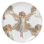 Angelic Angels Plates