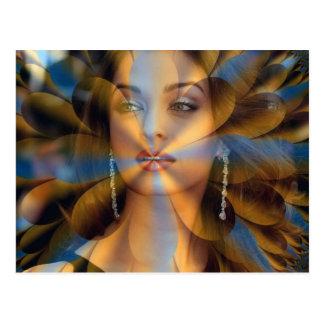 Angelic Aura Postcard