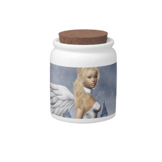 Angelic Candy Jar