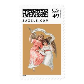 Angelic Chistmas Postage