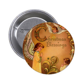 Angelic Christmas Blessings Pins