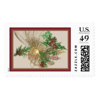Angelic Christmas Postage